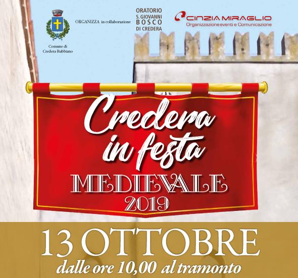 """CREDERA IN FESTA MEDIEVALE"""" - CREDERA RUBBIANO (CR) Logo_c10"""