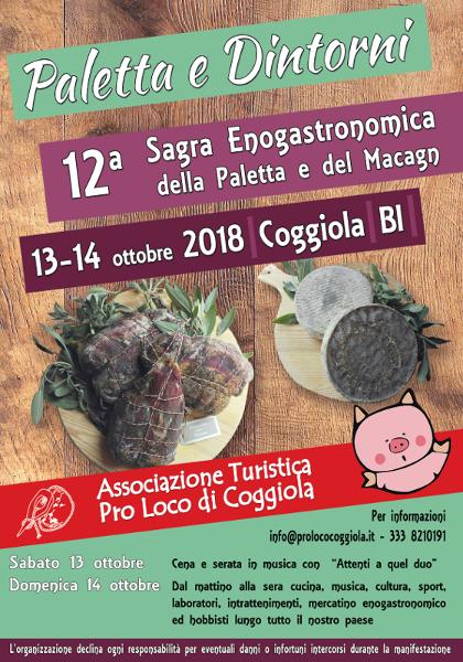 12° Paletta e Dintorni - Sagra Enogastronica della Paletta e Macagn - Coggiola  Palett10