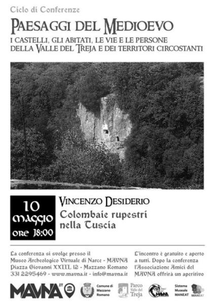 Colombaie rupestri nella Tuscia - Conferenza (Mazzano Romano, 10 maggio 2019) Piccol11