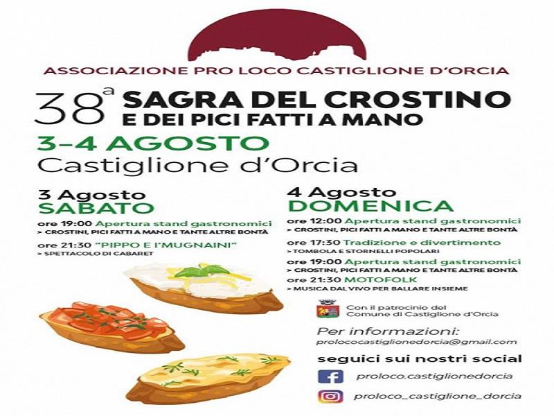 38° SAGRA DEL CROSTINO E DEI PICI FATTI A MANO di CASTIGLIONE D'ORCIA Re_eve10