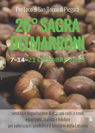 SAGRA DEI MARRONI DI SAN ROCCO DI PIEGARA (VR) 7-14-21 OTTOBRE 2018 Sm_20110