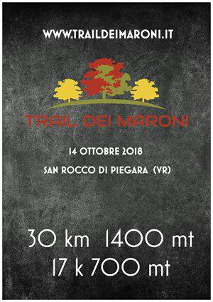 2° TRAIL DEI MARONI SAN ROCCO DI PIEGARA (VR) - 14 OTTOBRE 2018  Volant10