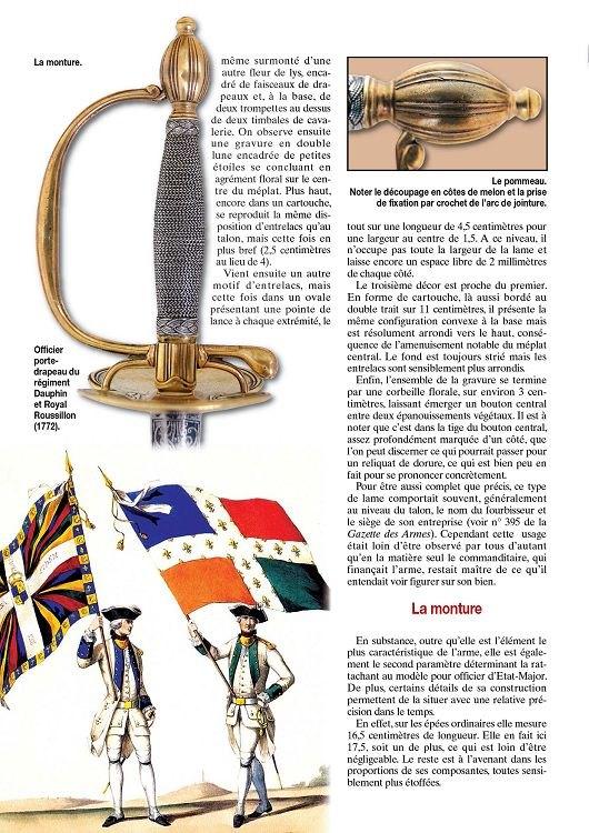 Épée d'un officier supérieur modèle en 1767 24585111
