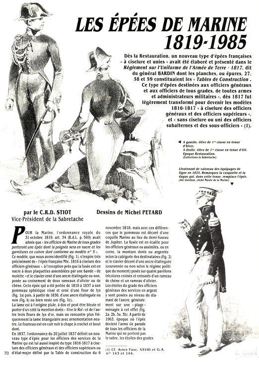 Épées d'officiers de marine 28004-10