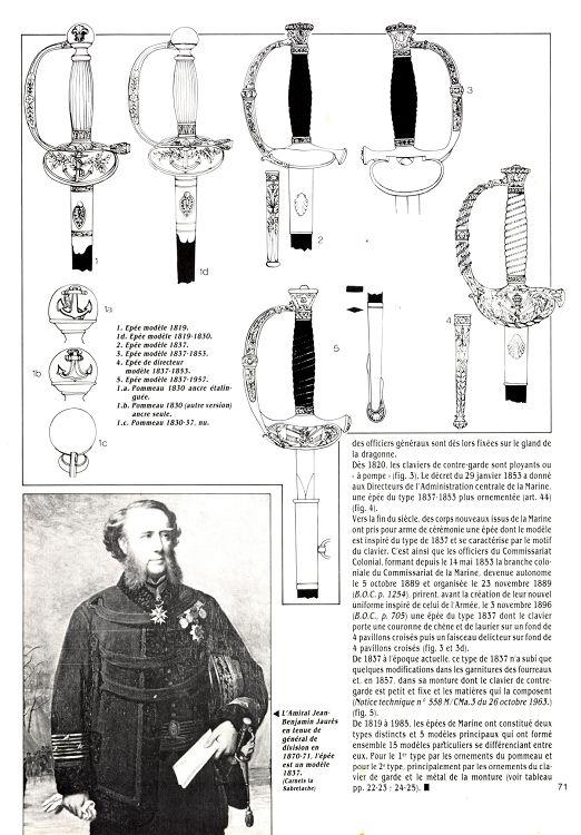 Épées d'officiers de marine 28004-11