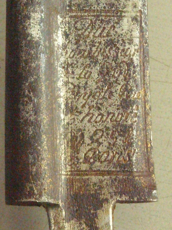 l'épée de l'échantillon de 1816 Dscn1035