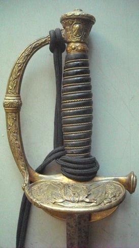 Epée d'officier de Marine au modèle 1837/1870 modifié1902 Image034