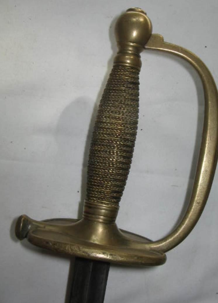 l'épée de l'échantillon de 1816 Image075