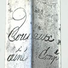 Trois épées de la gendarmerie Image119