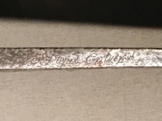 Sabre briquet de Chasseur à pied de la Garde Consulaire (puis Impériale) - Page 3 Img_0027