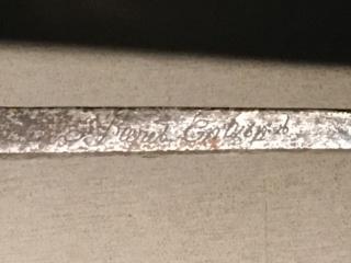 Sabre briquet de Chasseur à pied de la Garde Consulaire (puis Impériale) - Page 3 Img_0028