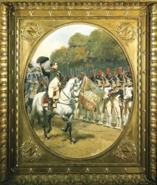 """La Revue, 1810"" Jean-Baptiste-Edouard Detaille La_rev10"
