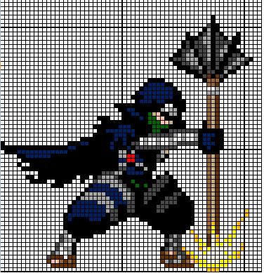 (Takumi) Mes créations Pixel Art Mistgu10