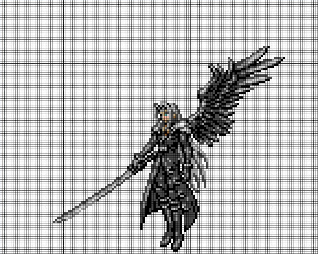 (Takumi) Mes créations Pixel Art Szophi10