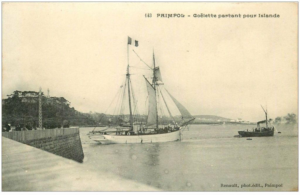 """Goélette de pêche """"islandaise"""" 926510"""