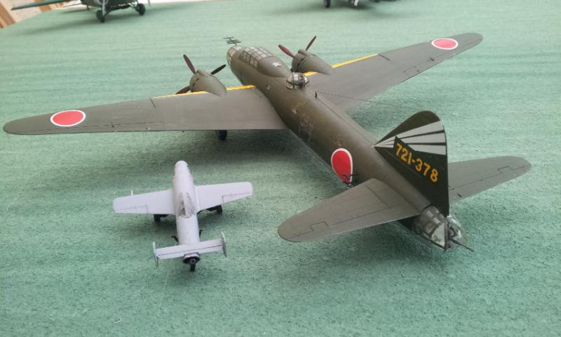 [Hazegawa] Mitsubishi G4M2E - OHKA Model 11 2000-015