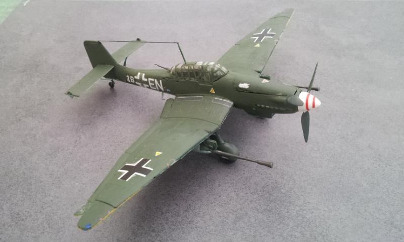 [Revell] Junkers Ju87G-D Tank Buster 2000-023