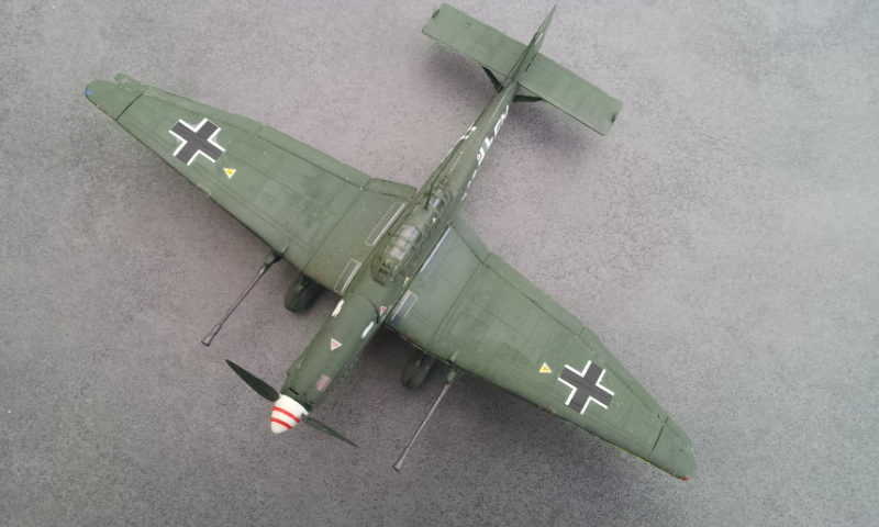 [Revell] Junkers Ju87G-D Tank Buster 2000-025