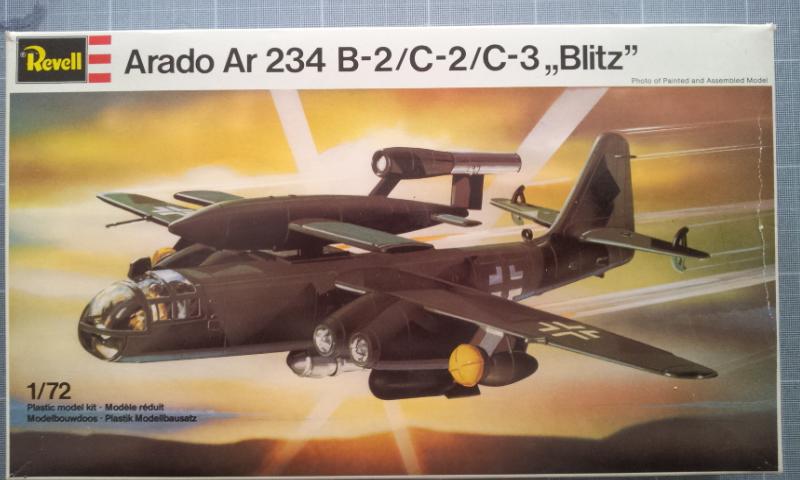 [Revell] Arado AR234C B-2C-2C-3 Blitz 2012-110