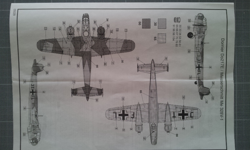 [Airfix] Miste Dornier Do 217 E + Me 328 2012-113