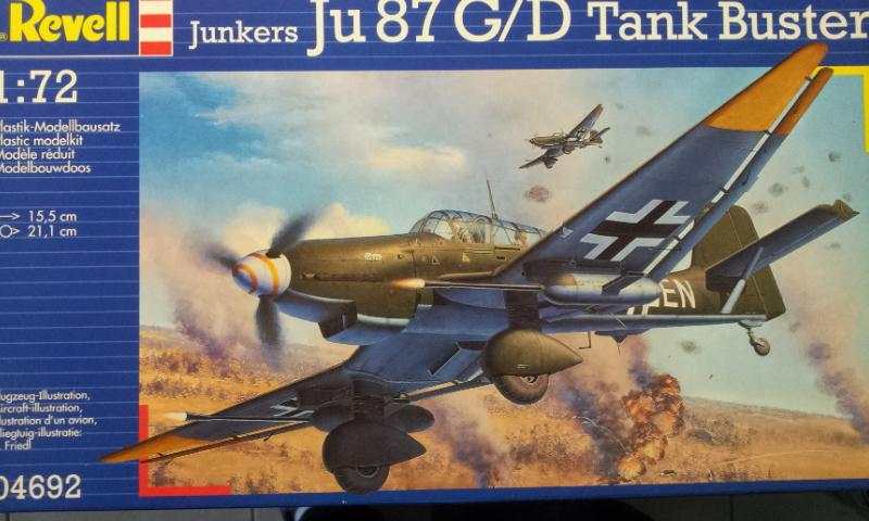 [Revell] Junkers Ju87G-D Tank Buster 2017-015