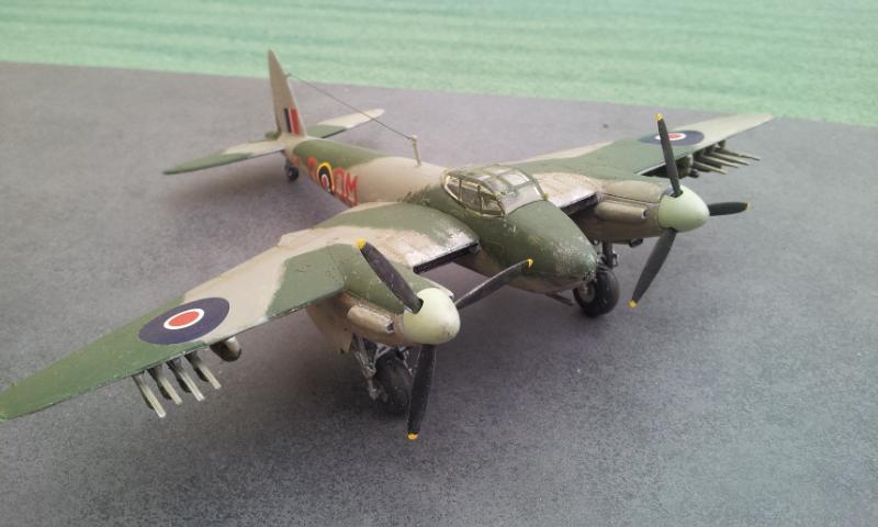 [Airfix] DH Mosquito Mk II VI XVIII 2018-030
