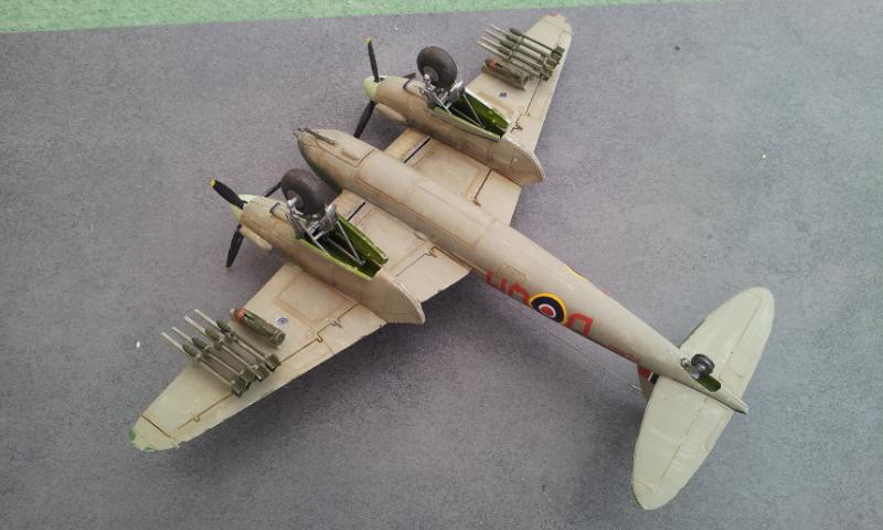 [Airfix] DH Mosquito Mk II VI XVIII 2018-031