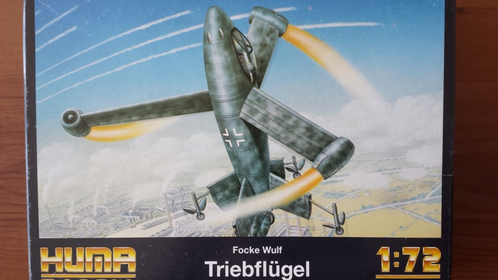 [Huma Modell] Focke Wulf - Trieblügel 20180918