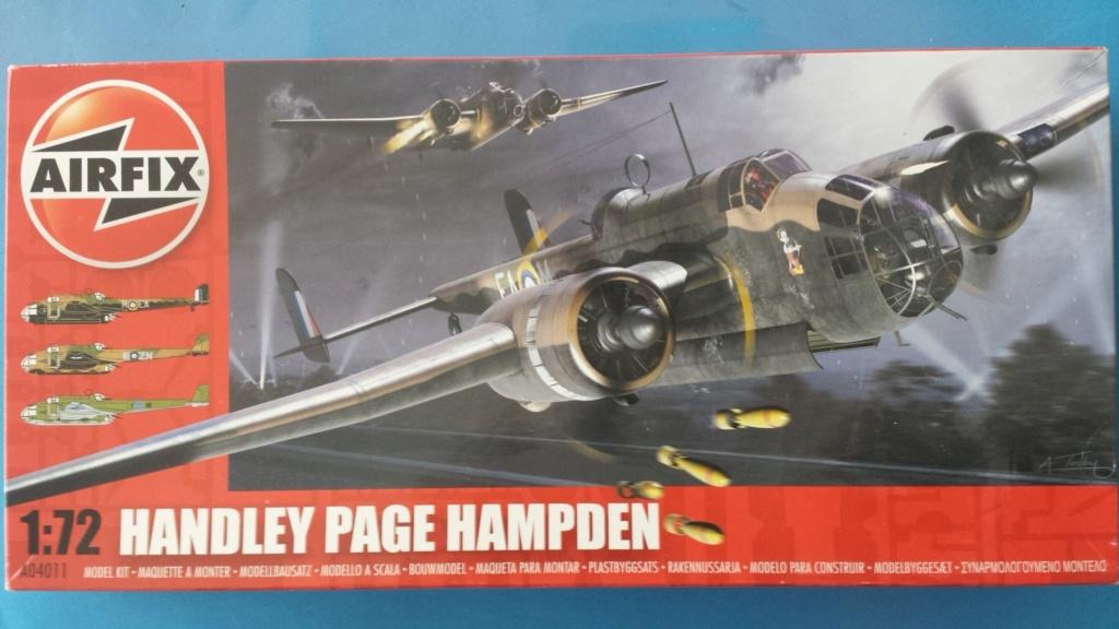 [Airfix] Handley Page Hampdem 20181019