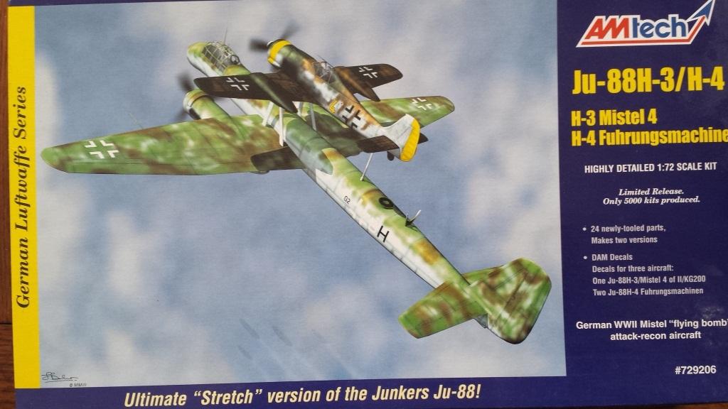 [AMtech] - Ju-88H-3 Mistel 4-4 Fuhrungdmachine + FW 190 F-8 Revell 20181120