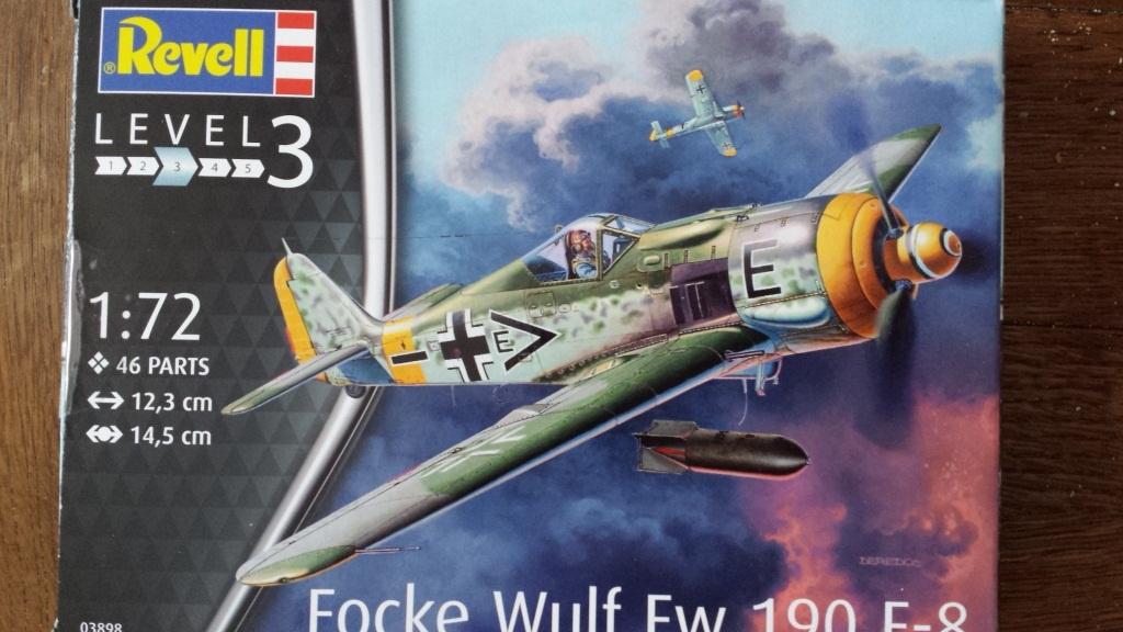 [AMtech] - Ju-88H-3 Mistel 4-4 Fuhrungdmachine + FW 190 F-8 Revell 20181121