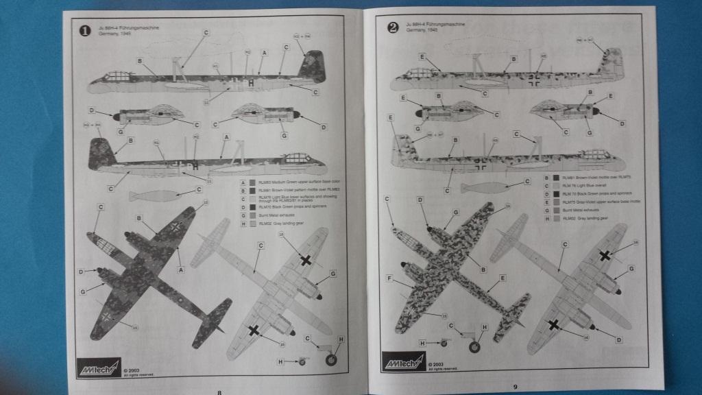 [AMtech] - Ju-88H-3 Mistel 4-4 Fuhrungdmachine + FW 190 F-8 Revell 20181126