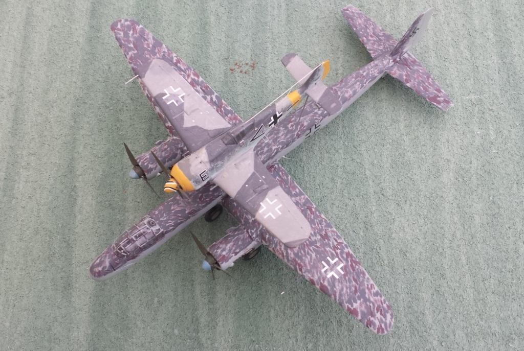 [AMtech] - Ju-88H-3 Mistel 4-4 Fuhrungdmachine + FW 190 F-8 Revell 20181217