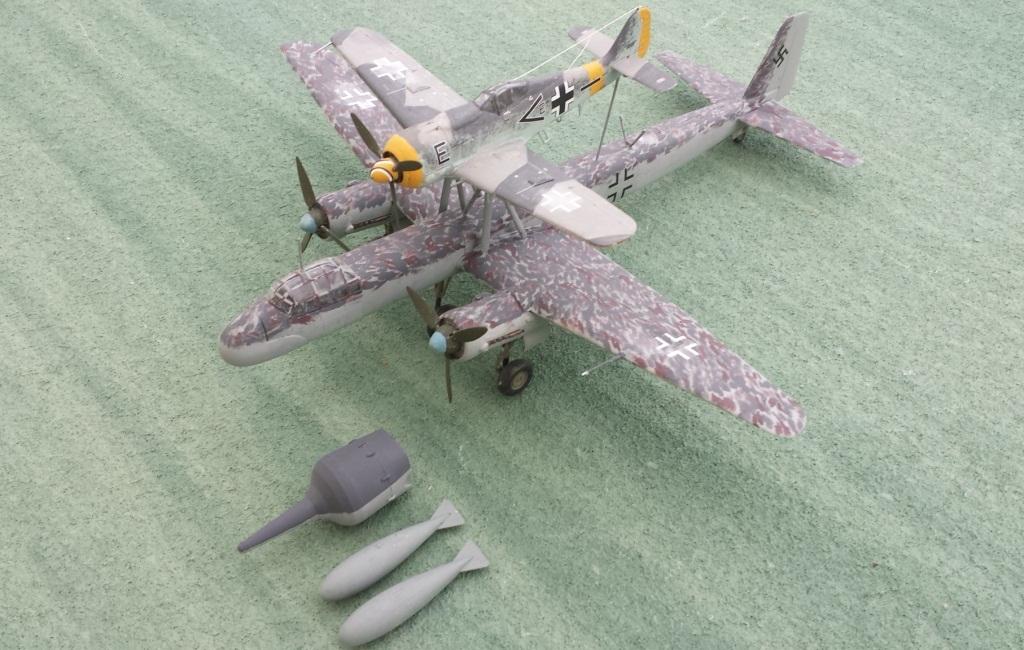 [AMtech] - Ju-88H-3 Mistel 4-4 Fuhrungdmachine + FW 190 F-8 Revell 20181223