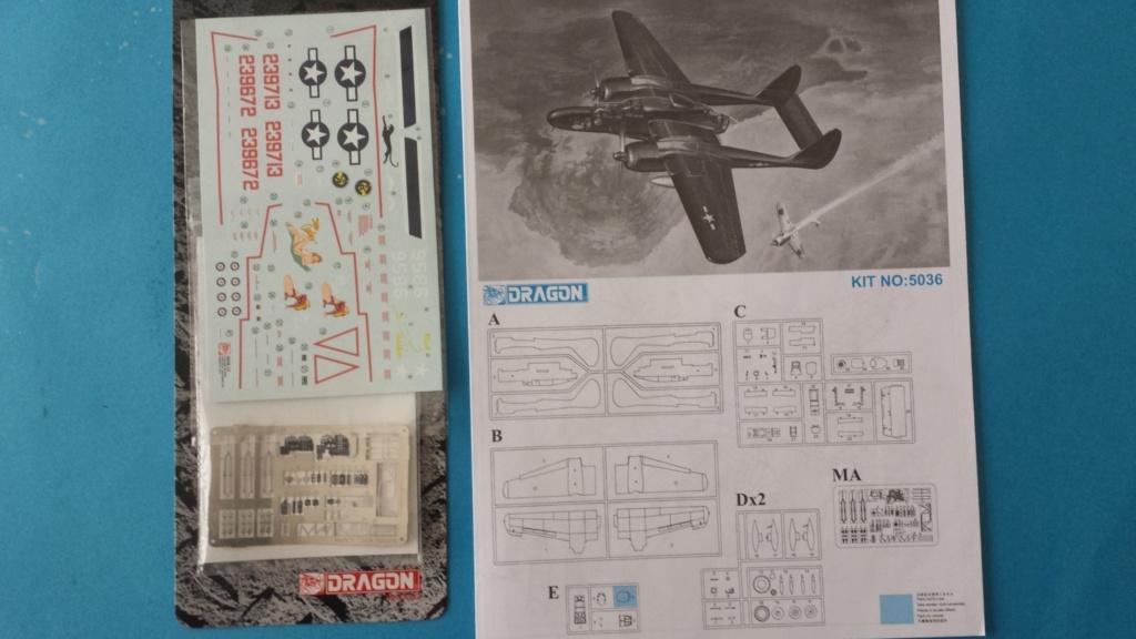 [Dragon] Northrop P-61B Black Widow 20181230