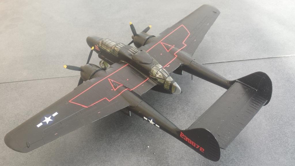 [Dragon] Northrop P-61B Black Widow 20190314