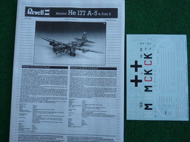 [Revell] Heinkel He 177 A-5 + Fritz X P1030110