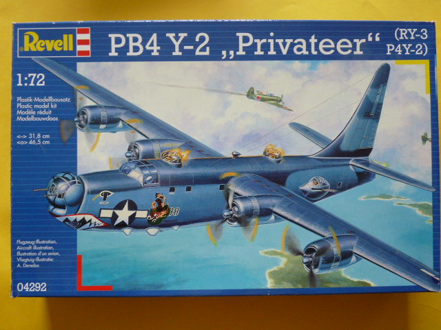 [Revell] Consolidated PB4 Y2 Privateer P1030149