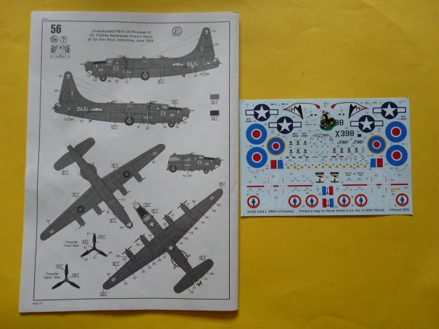 [Revell] Consolidated PB4 Y2 Privateer P1030153
