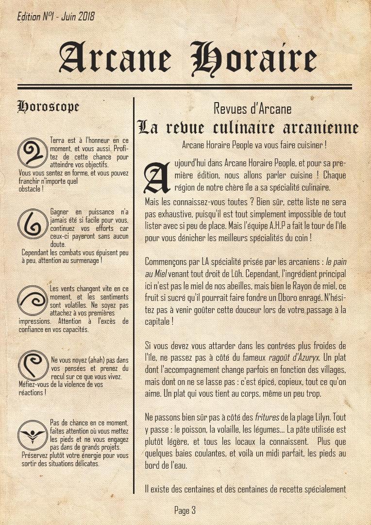 [Edition N°1] Arcane, 10 ans d'existence Arcane17