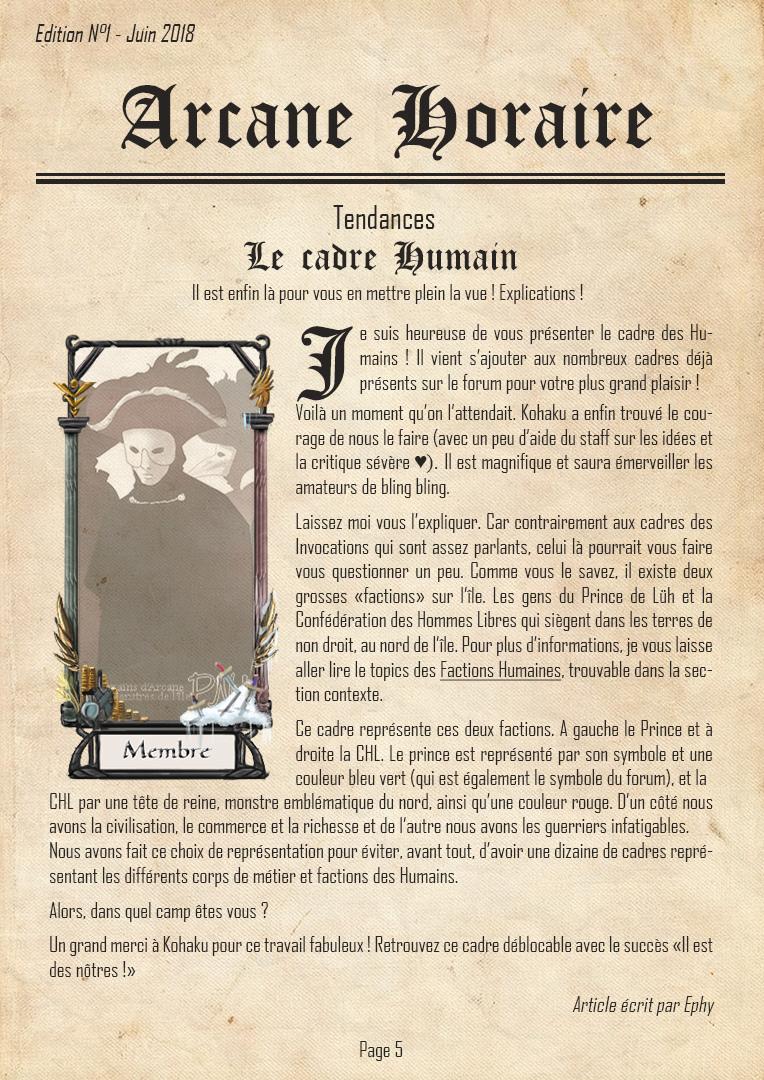 [Edition N°1] Arcane, 10 ans d'existence Arcane19