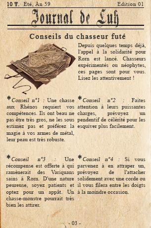 Edition n°01 - Une révolte à Rorn ? Journa11