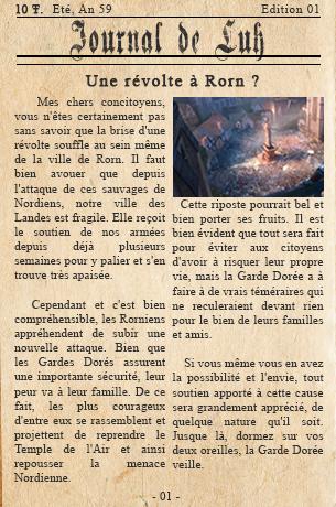 Edition n°01 - Une révolte à Rorn ? Journa15