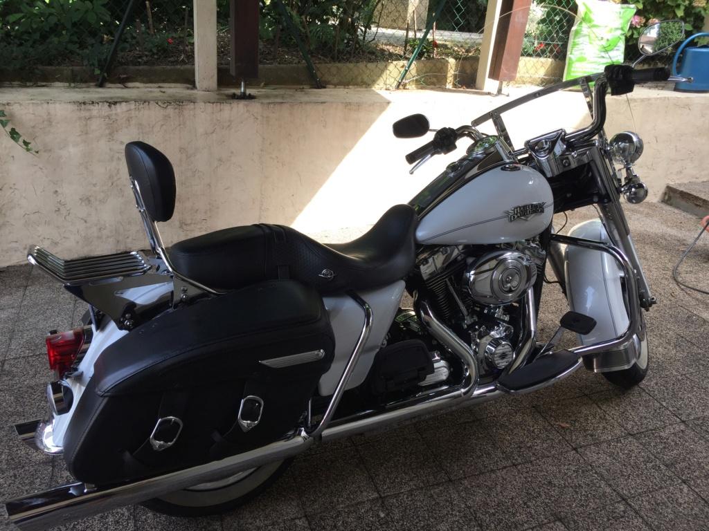 Harley Road King blanc nacré 2012 (VENDUE) Img_6510