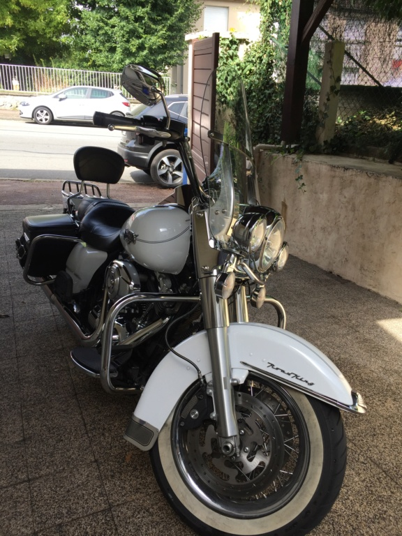 Harley Road King blanc nacré 2012 (VENDUE) Img_6512