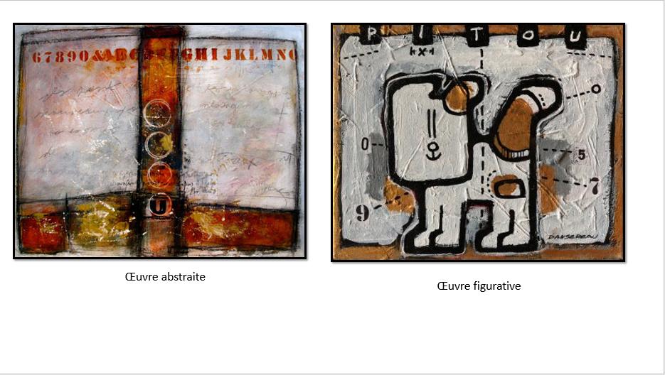 À la manière de Gérard Dansereau (peinture et texture) Danser13