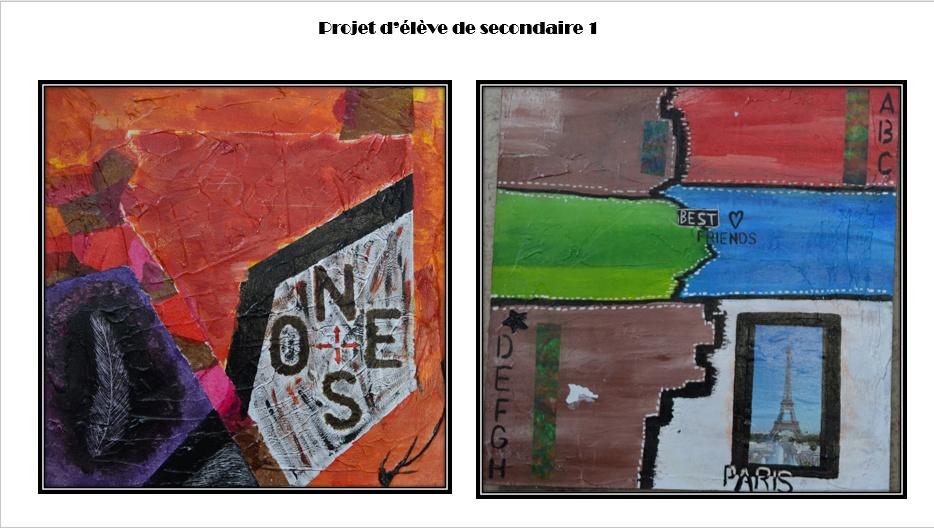 À la manière de Gérard Dansereau (peinture et texture) Danser16