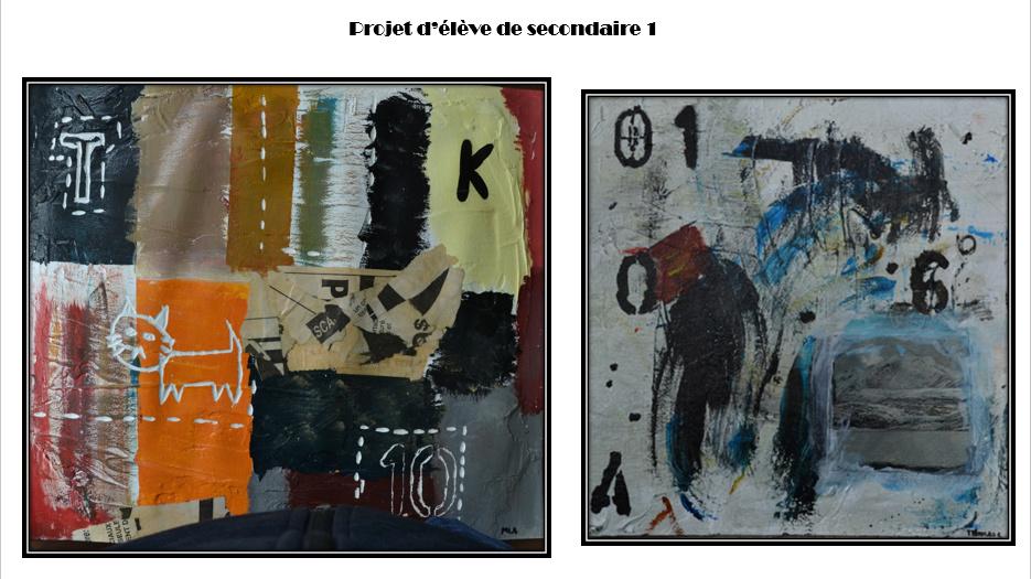 À la manière de Gérard Dansereau (peinture et texture) Danser18