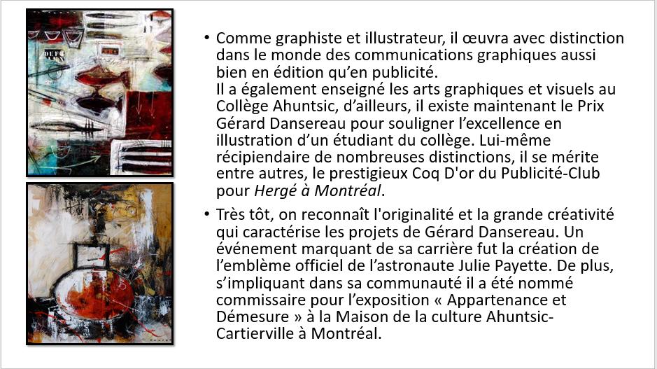 À la manière de Gérard Dansereau (peinture et texture) Danser31