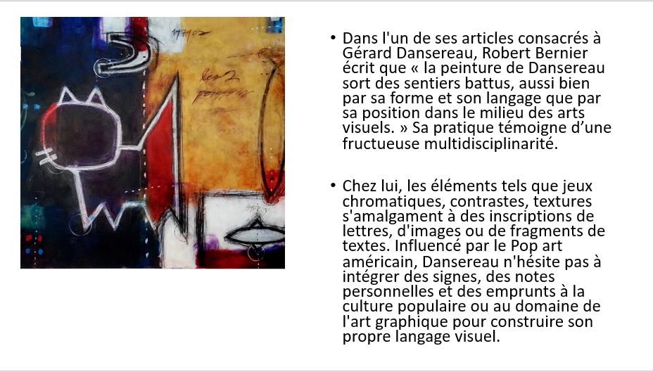 À la manière de Gérard Dansereau (peinture et texture) Danser32